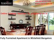 Fully Furnished apartment in Whitefield Bangalore to offer the comfort