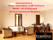 Serviced Apartments Bangalore India to offer you a luxurious stay