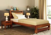 Check out Modern collection of Bed in Bangalore Online at WoodenStreet