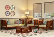 Check Out the Classy Variants in Wooden Sofa Design @ Wooden Street