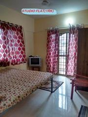 Furnished 1 room kitchen no brokerage 10000 p.m.Manyata tech park, , ,