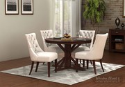 Get Up to 55% OFF on solid wood Round Dining Sets at Wooden Street