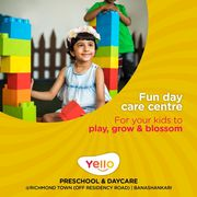Best Playschool in Padmanabhanagar | daycare near me - Yello Preschool