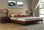 BIG SALE!! Buy upholstered bed online in India