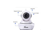 Wireless cctv camera 360degree rotate cameras