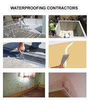 Water leakage in bathroom  waterproofing leakage treatment