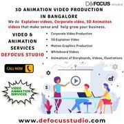 3D animation studio in Bangalore