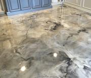 Metallic Epoxy Flooring Call: +91 9845199670,  www.iconenterprises.in