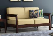 Get two seater sofa sets Online at Low Prices - Wooden Street