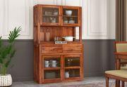 Big Sale on wooden kitchen cupboard designs online @Wooden Street