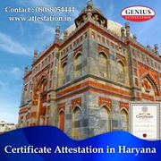 Best Certificate Attestation Services in Haryana
