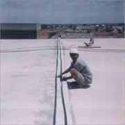 Expansion joint waterproofing treatment