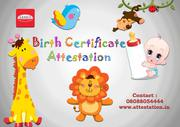 Best Birth certificate attestation In India