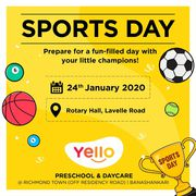 Yello Preschool and Daycare  | Sports Day | Bangalore