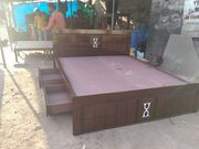 king size storage double bed factory outlet free delivery all Bangalor