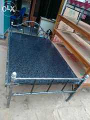 4 by 6 iron double bed factory outlet free delivery all Bangalore