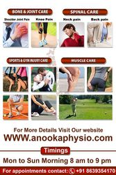 Anooka Physio   Physiotherapy Clinic in Bangalore