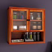 wooden kitchen shelves : Buy online in India at WoodenStreet
