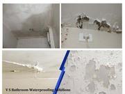 Bathroom Water leakage Waterproofing solutions