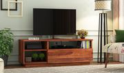 Wooden LED TV Stand Designs Online @ WoodenStreet