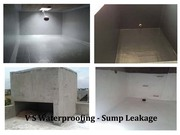 Waterproofing Services for Sump tank Water Leakage