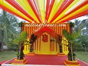 Flower Decoration Mysore,  Wedding Decoration Mysore,  Outdoor Wedding