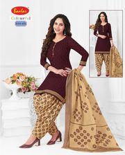 Baalar Colorful vol4 cotton dress material