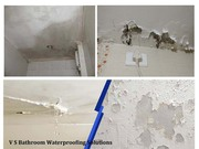 Bathroom water leakage Waterproofing Services