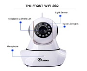 CCTV wireless camera 360 degree rotation