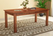 Monsoon Sale! Upto 55% Off on 6 Seater Dining Table @ Woodenstreet