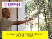 Pigeon Nets For Balconies www.balconysafetynetbangalore.co.in