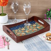 Navratri Sale! Upto 55% Off on Serving Wooden Tray @ Woodenstreet