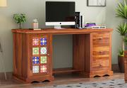 Find the exclusive collection of work station online at Wooden Street.
