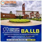 PU,  BA,  B COM & BA LLB with integrated training for UPSC at Bangalore