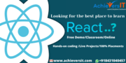 Best React Js Development Training  in Bangalore