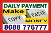 Copy paste,  click job,  data entry