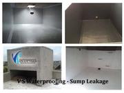 Overhead tank waterproofing solutions