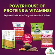 Buy Organic Lentils and Pulses Online