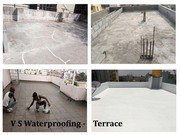 Waterproofing Services for Terrace Leakage