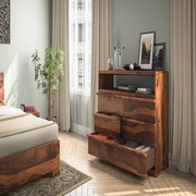 Buy Wooden chest of drawers Online in India at Wooden Alley