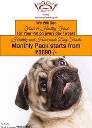 Healthy Bark- Fresh,  Healthy and Homemade Dog Foods