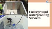 Underground Tank Waterproofing Contractors in Bangalore