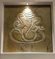 Stone Poster - Ganesha (2x2)