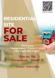 Residential Site for Sale in Abbigere,  Bangalore