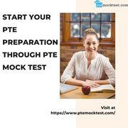 Start you PTE preparation through PTE mock test