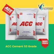 ACC 53 Grade Cement Price in Bangalore