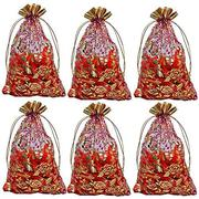 Transparent potli bags and organza potli bags from Brown Leaf